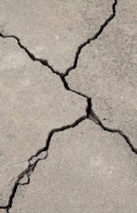 Big Cracks in Concrete Need Repair